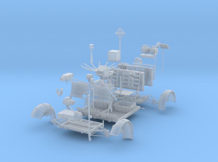 LRV Parts-straight 3d printed