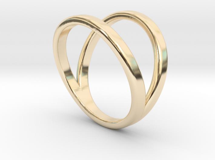 Split Ring Size 7 3d printed