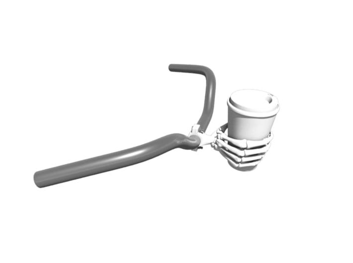 Bicycle Coffee Cup Holder 3d printed