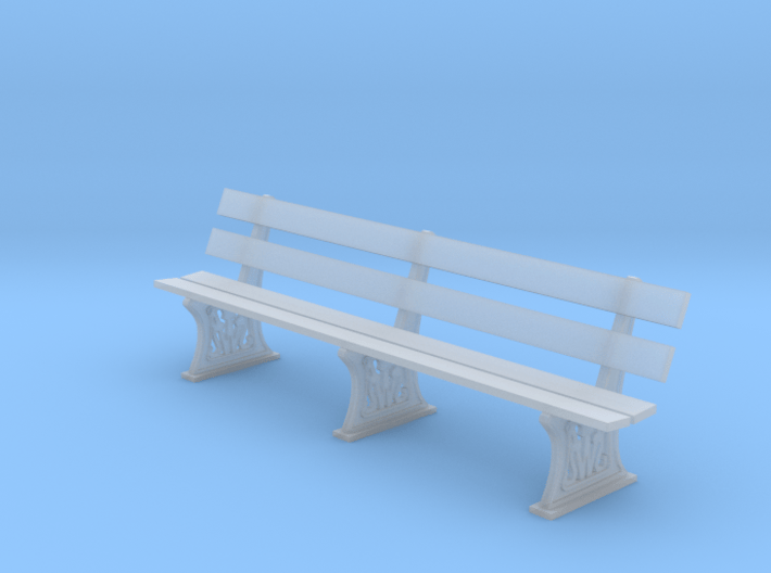 GWR Bench 4mm scale full 3d printed
