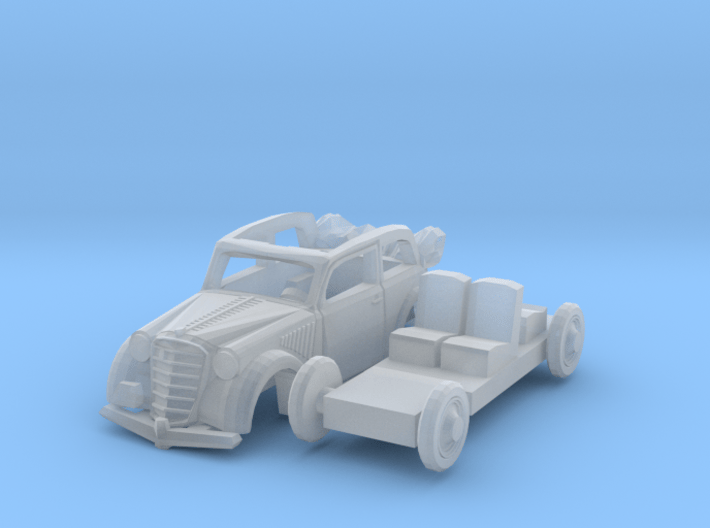 Opel Olympia Cabrio-Limousine (1/144) 3d printed