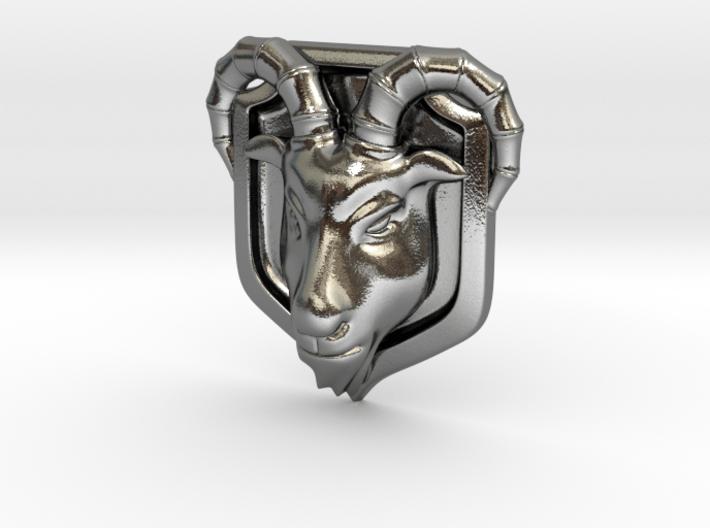 Goat(Emblem) 3d printed