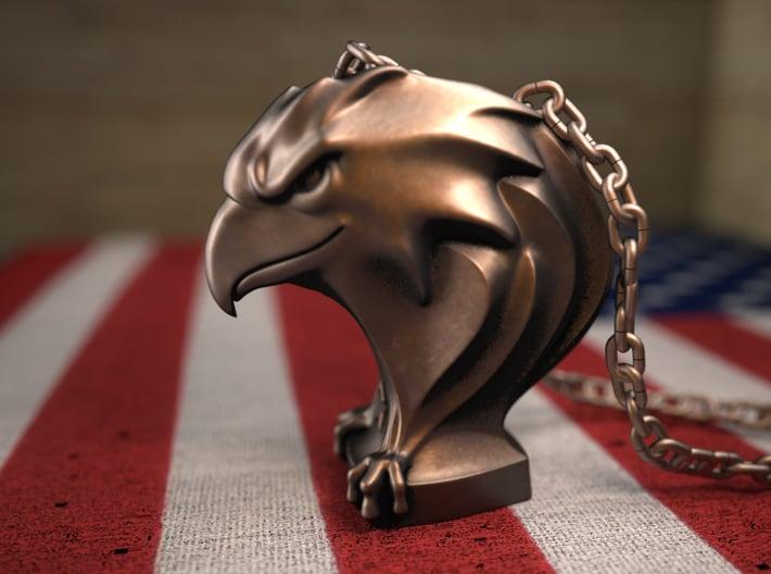 Eagle(Pendant) 3d printed