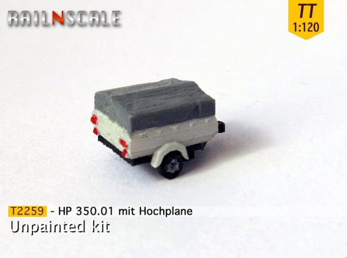 HP 350.01 mit Hochplane (TT 1:120) 3d printed