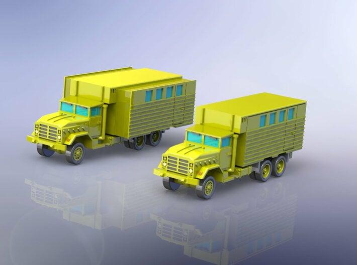US M934 Truck with Van Body 1/285 3d printed