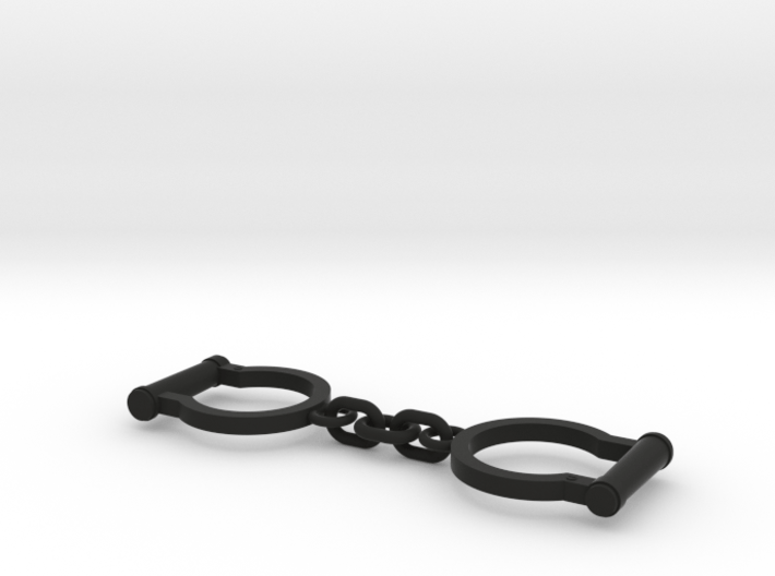 Ned Kelly Gang Outlaw Shackles Handcuffs (larger) 3d printed
