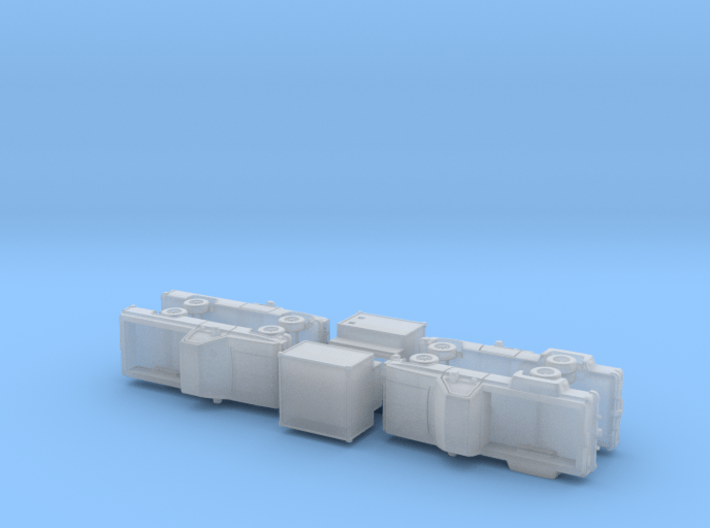 US Chevy M1008 / M1028 CUCV & Shelter 1/285 3d printed