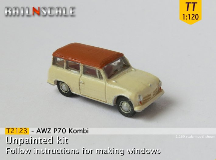 AWZ P70 Kombi (TT 1:120) 3d printed
