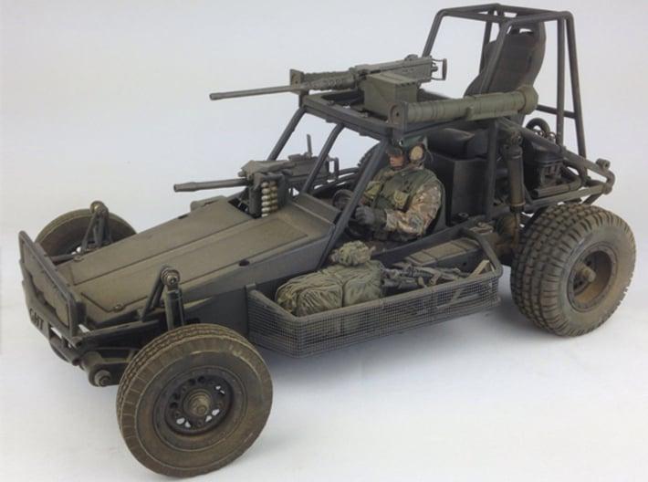 FA30004 Desert Patrol Vehicle Side Racks 3d printed Side racks shown installed on the Knight Customs DPV (sold separately)