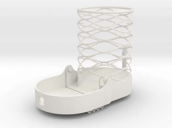 Mini Dice Tower, foldable 3d printed