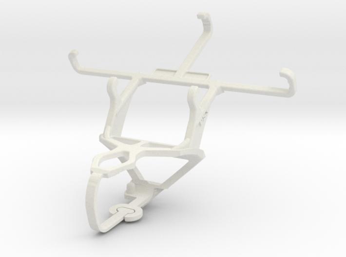 Controller mount for PS3 & Lava Iris Atom 3d printed