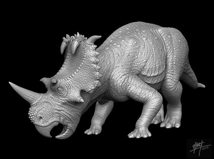 Coronosaurus/Centrosaurus brinkmani 1/40 Eat 3d printed
