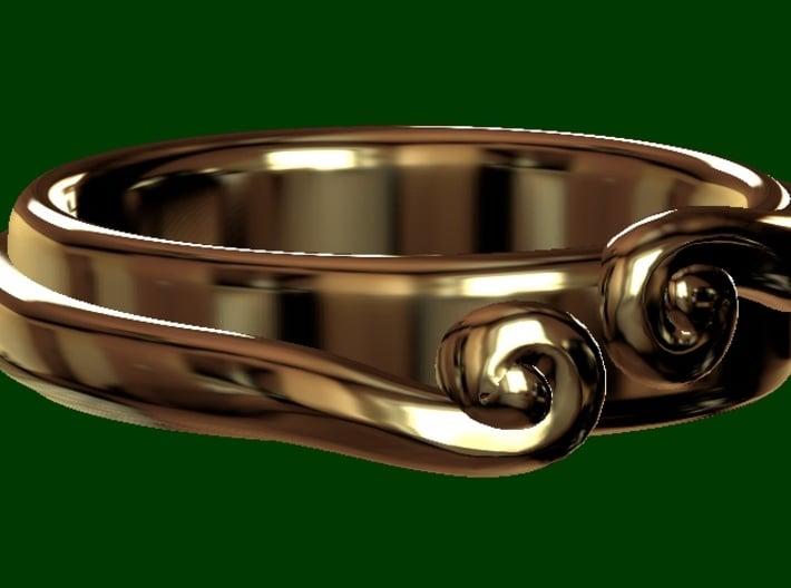 The Secret Ring 3d printed