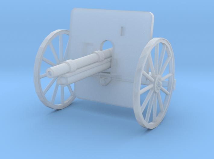 EQ24A Ehrhardt 7.5cm M1901 Field Gun (28mm) 3d printed