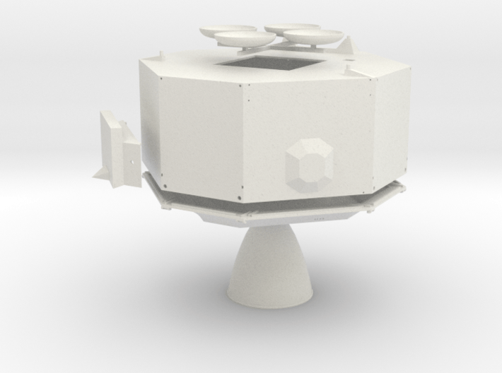 A11 To 14-WSF-Descent Stage-Open Detailed MESA 3d printed