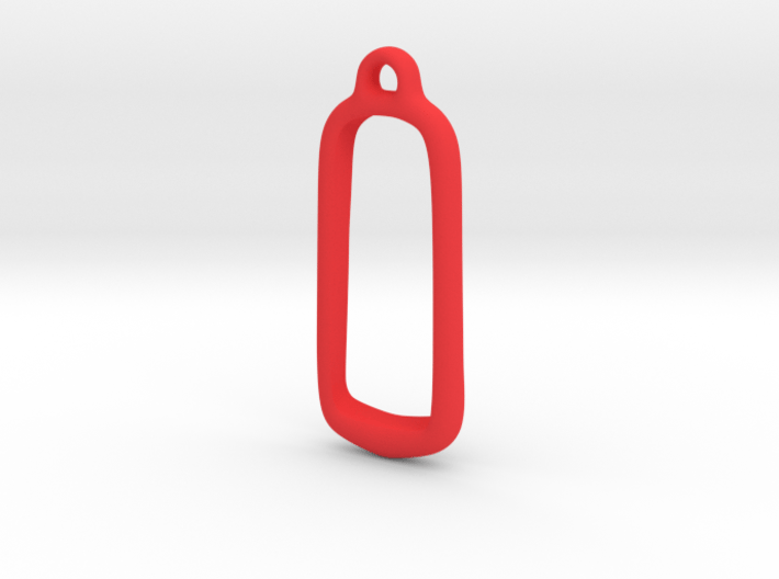 Fitbit One Keychain Case 3d printed