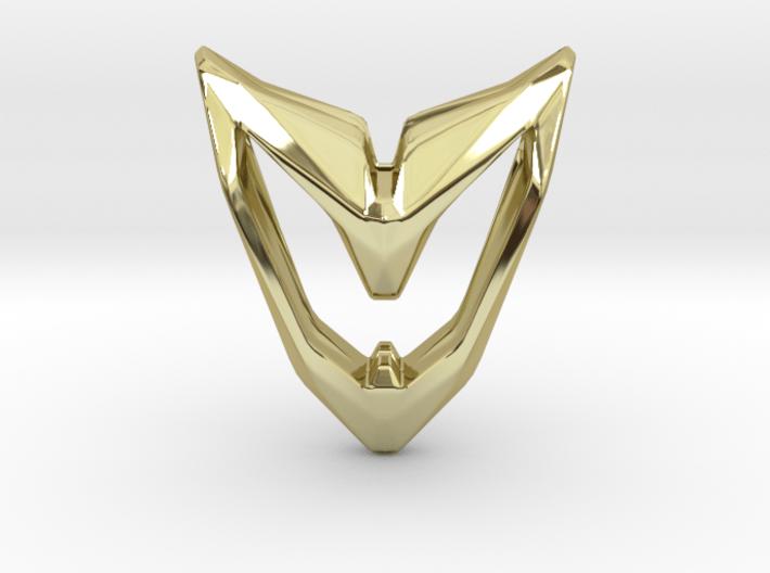 Astronaut, Pendant. Space Chic 3d printed