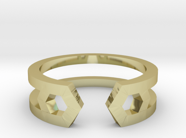HH Ring Sharp, Us Size 8, 18,2mm 3d printed
