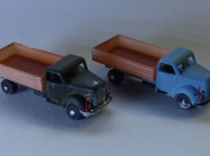 Borgward B555-A (TT=1/120) 3d printed this is the Z scale model