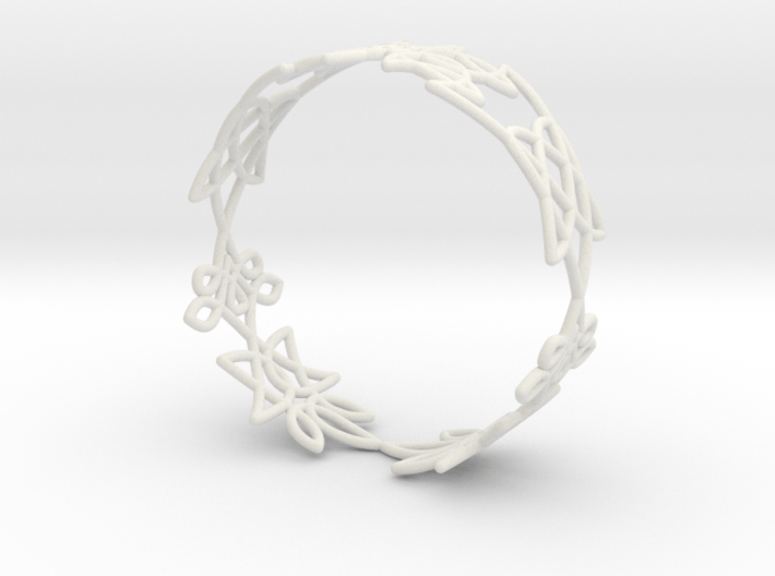 Celtic knots Cuff 1 3d printed