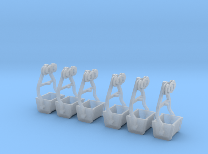 Gold King Bucket Tramway Bucket For S Scale 3d printed