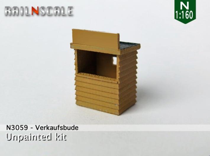 Verkaufsbude (N 1:160) 3d printed