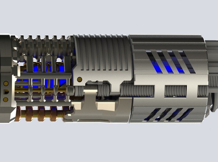 Graflex2.0 - Master Chassis - 3/7 Shell 2 3d printed