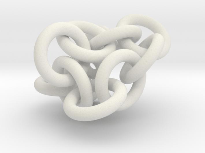 Bunch of rings 3d printed