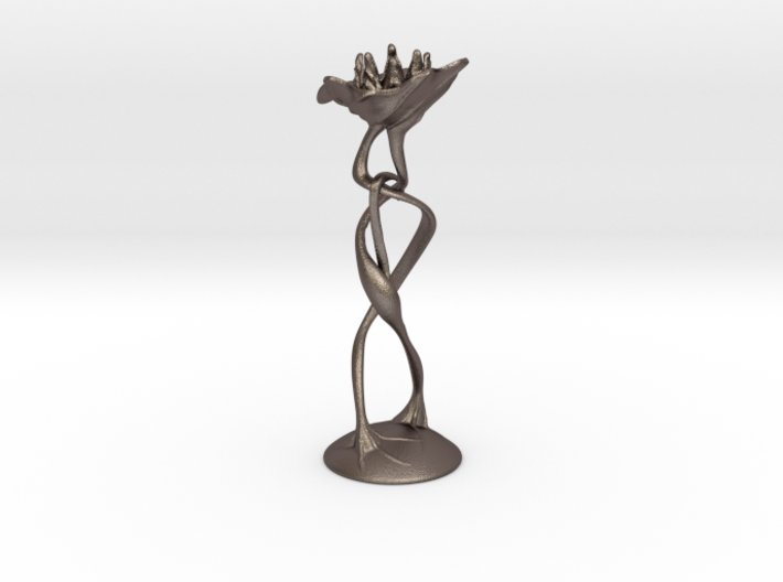 """candle holder """"Lovers"""" 3d printed"""