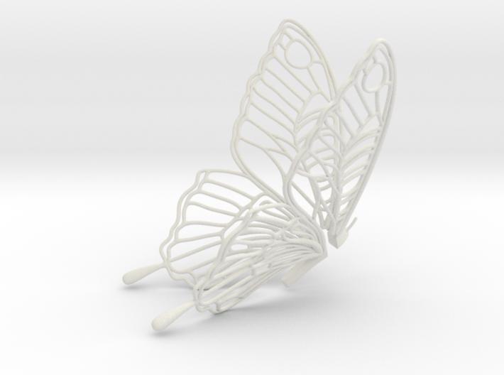Butterfly Teabag Holder 3d printed
