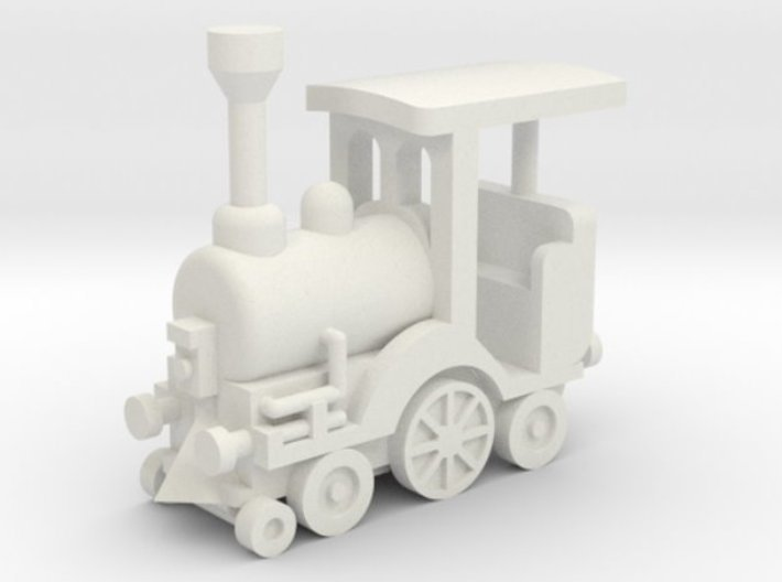 Kindereisenbahn für Space Train 1:87 (H0 scale) 3d printed Besatzungsteil