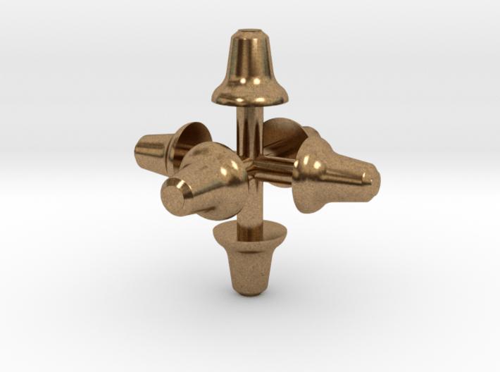 Glocken (6 x 2,3 mm) 3d printed