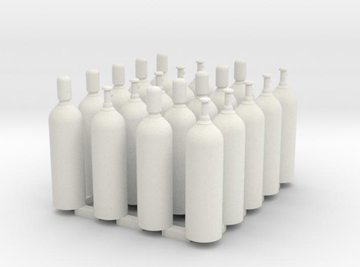 Welding & Industrial High Pressure Cylinders (20Pa 3d printed