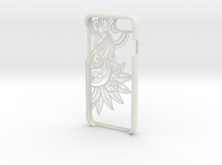 Floral 2 Iphone 7 Case 3d printed