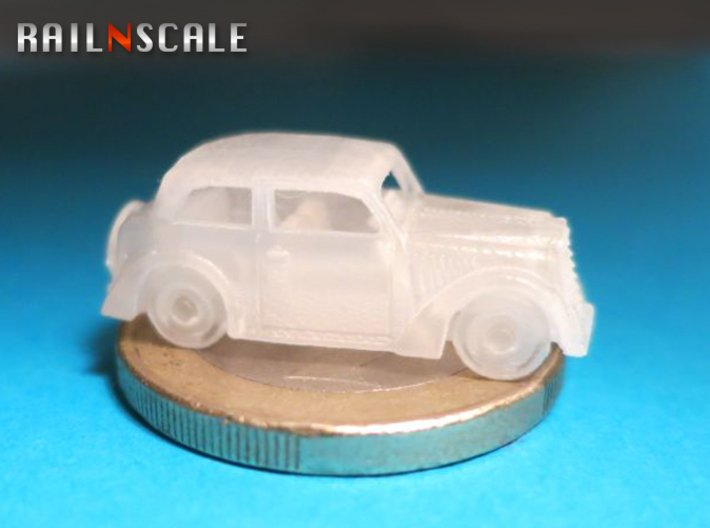 Opel Olympia Limousine (N 1:160) 3d printed