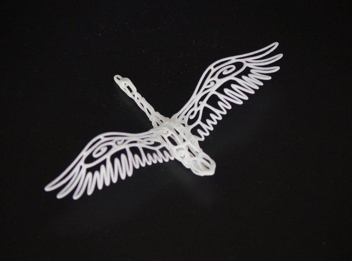 Wild Duck--pendants 3d printed