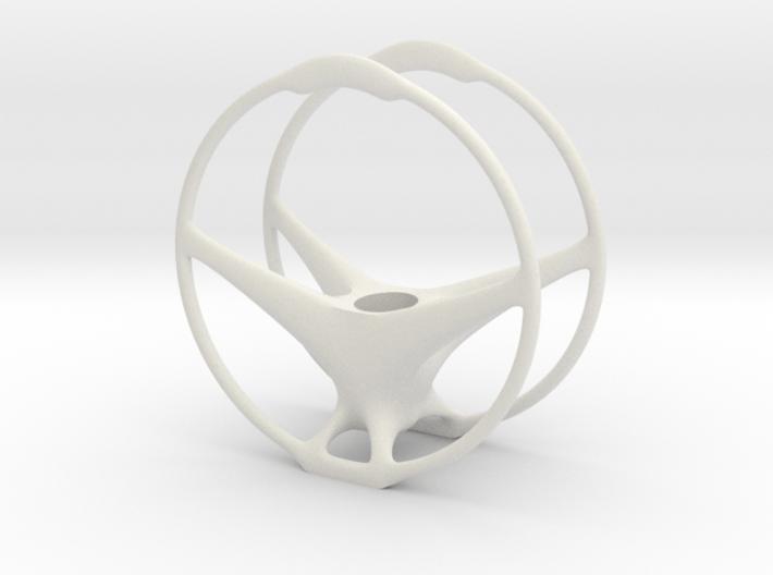 Wheel Vase/planter 3d printed