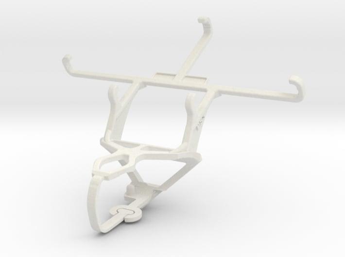 Controller mount for PS3 & QMobile Noir LT250 3d printed