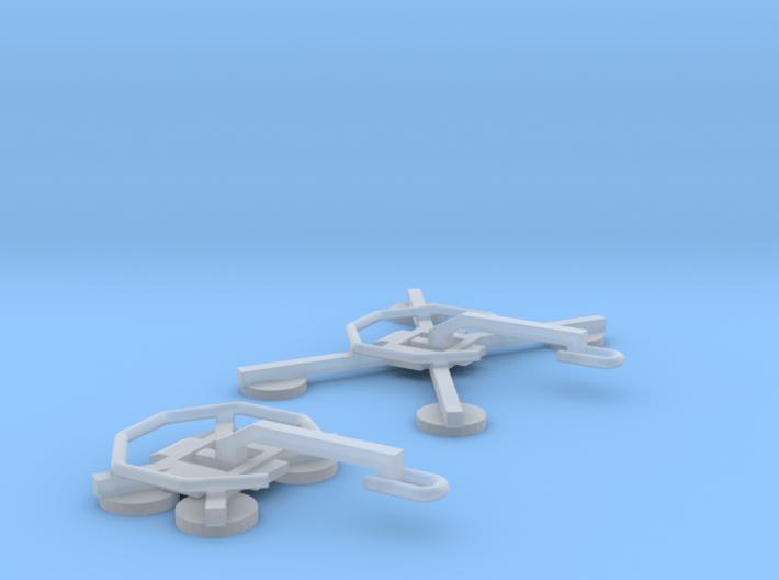 1:50 Glass handler for mini crawler crane 3d printed