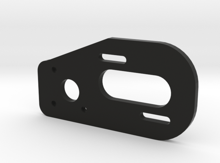 V1 TLR 22 2.0 3 Gear Laydown Motor Plate 3d printed Fits the TLR 22 2.0 Lay Down Transmission