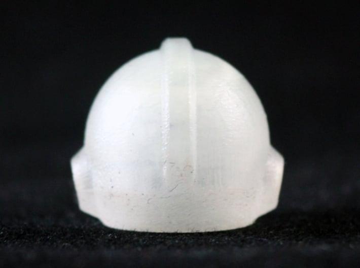Mega Helmet 3d printed Frosted Ultra Detail