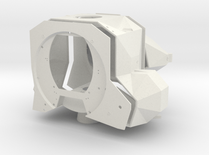 A05 To 17-WSF-Ascent Stage-with Interior 3d printed
