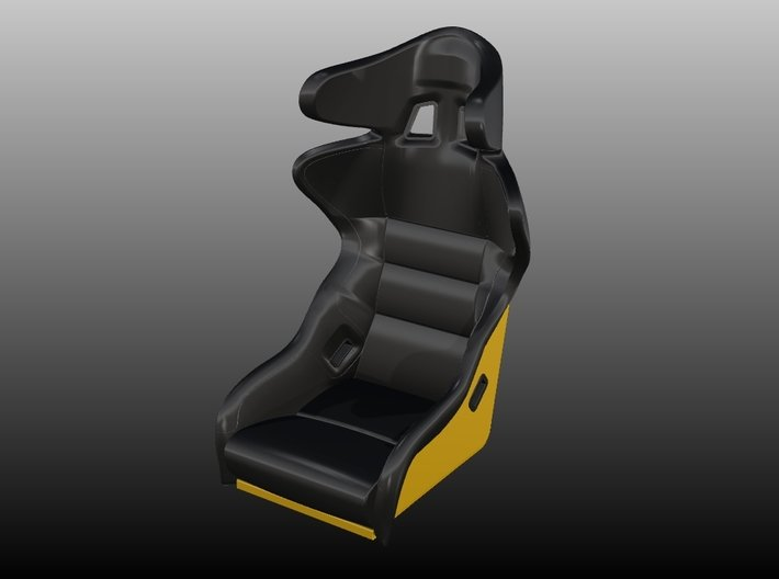 Race Seat - SPro-ADV - 1/10 3d printed