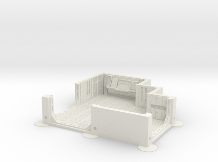 Imperial Assault tile 02A 3d printed