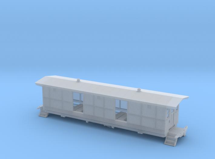 Milk Car 4 Door S Scale  1/64 3d printed
