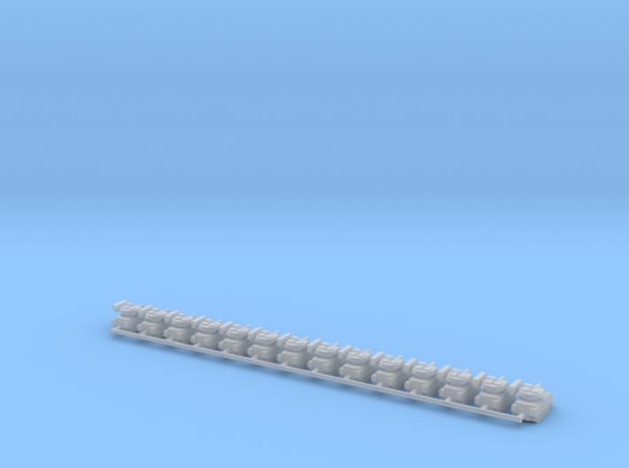 1/700 M2A3 Bradley IFV (x14) 3d printed