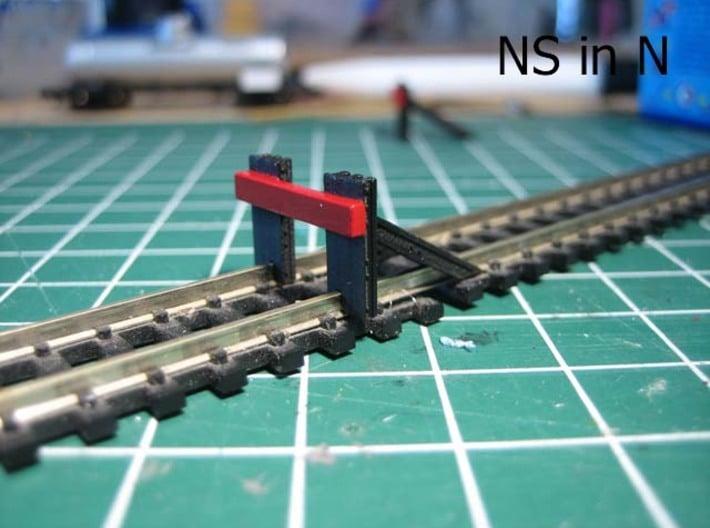 N Verzwaard stootjuk NS (2 stuks) Hercules Sr 3d printed