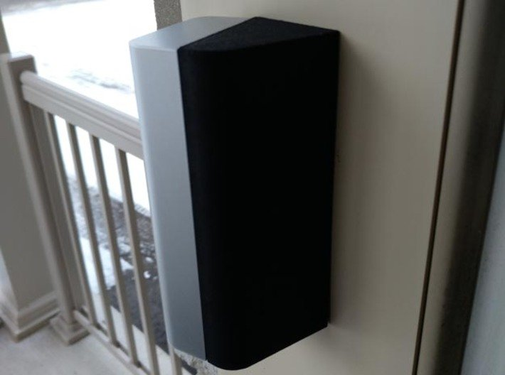Ring Doorbell Pro 70 Degree Wedge 3d printed View from the back