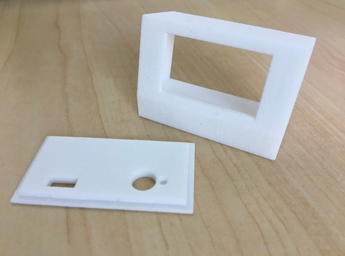DC-002 Enclosure 3d printed NOTE this product includes only the main enclosure, back panel must be ordered separately