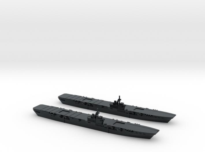 HMS Colossus 1/4800 x2 3d printed